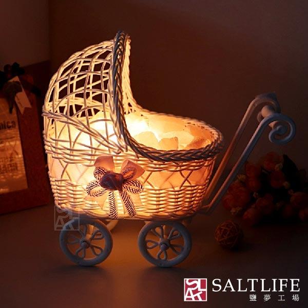 【鹽夢工場】創意造型鹽燈-娃娃車