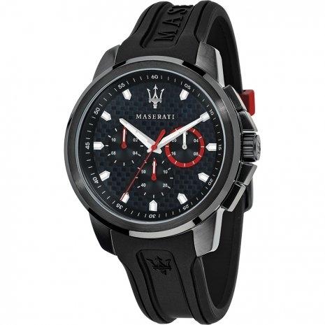 MASERATI WATCH-瑪莎拉蒂手錶-Sfida 2017 3眼石英錶-R8851123007-錶現精品公司-原廠正貨-鏡面保固一年