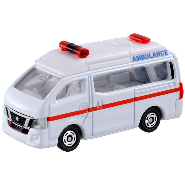 TOMICA 多美小汽車 NO.018 日產NV350救護車 (TAKARA TOMY)