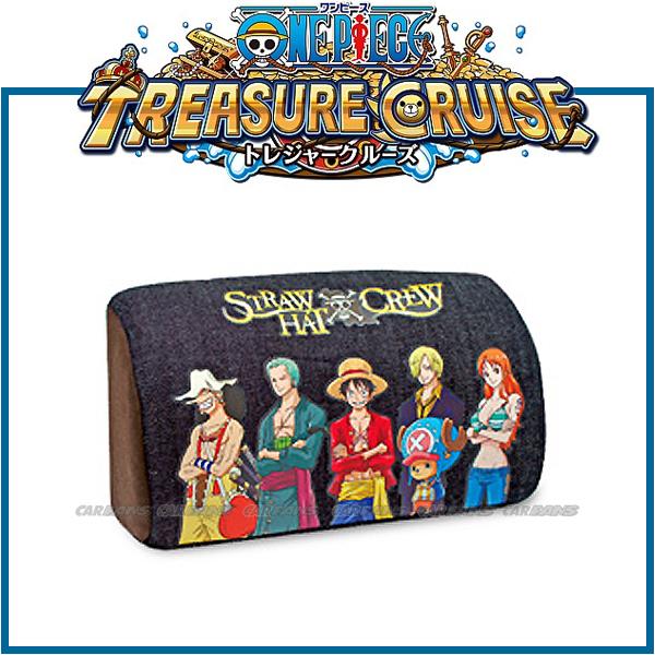 愛車族購物網ONE PIECE海賊王航海王座椅頸靠枕-六人正面