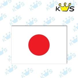 收藏天地防水防曬安全帽汽機車萬用貼-日本國旗