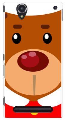 3C膜露露胖胖熊水晶硬殼SONY Xperia T2 Ultra D5303手機殼手機套保護套保護殼