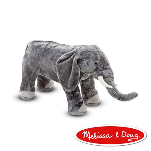 美國Melissa Doug MD大型填充動物大象
