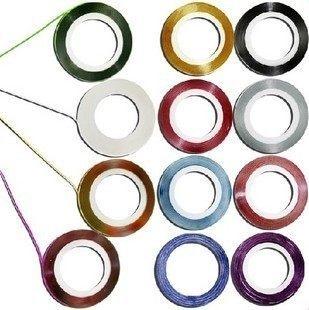 美甲造型金屬線 15色可選 寬度約0.8mm