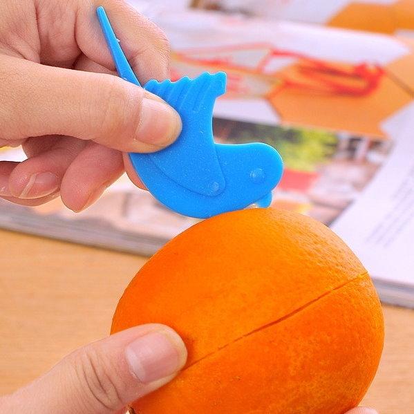 小鳥造型剝橙器 柳丁柳橙去皮器 活動禮品贈品-艾發現