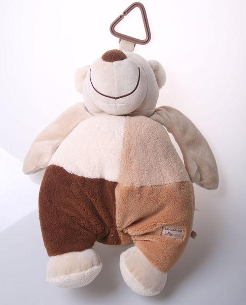 胖胖熊可吊掛絨毛玩具魔法Baby
