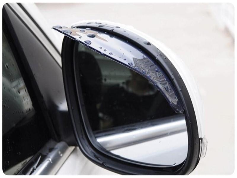 【後視鏡擋雨板】2入對裝 車用照後鏡遮雨板 後照鏡雨眉 加厚遮雨擋 擋雨片