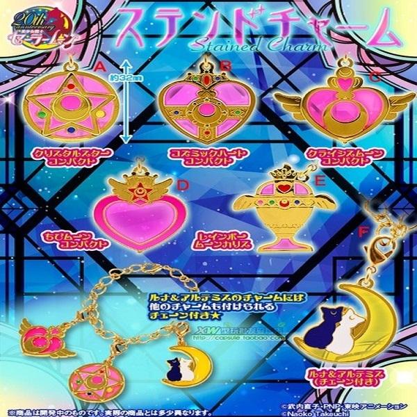 star童話系列美少女戰士領結徽章變身器徽章項鏈