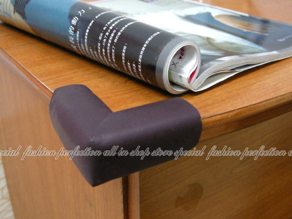 DL120柔軟泡棉加厚防撞桌角桌角保護墊安全防護桌角護墊1入EZGO商城