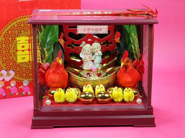 一定要幸福哦~~帶路雞、起家(雞)有雞啼聲~婚禮小物、結婚、歸寧、入厝、婚俗用品