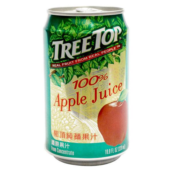 台灣【樹頂】TREE TOP蘋果汁(易)320ml