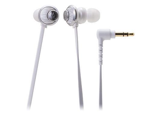 台中平價鋪全新鐵三角ATH-CKF77耳塞式耳機斑馬紋色優美曲線女性專屬台灣鐵三角公司貨