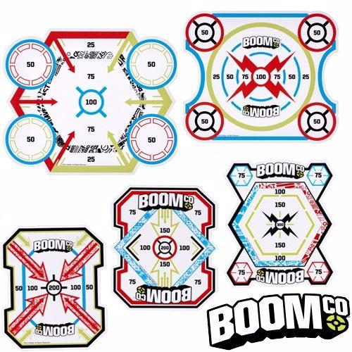 【BOOMCO 射擊遊戲】智能黏貼標靶 Y8624