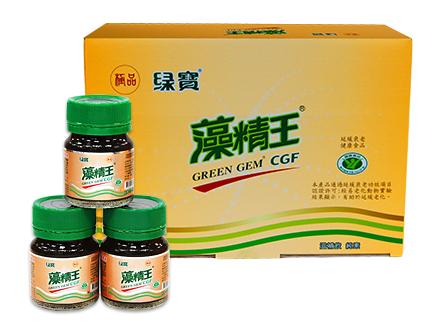 台灣綠藻 極品綠寶藻精王 滋補飲12入3盒組