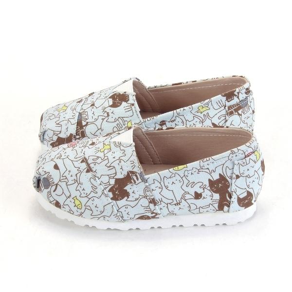 懶人鞋滿版可愛貓咪童鞋FNB49