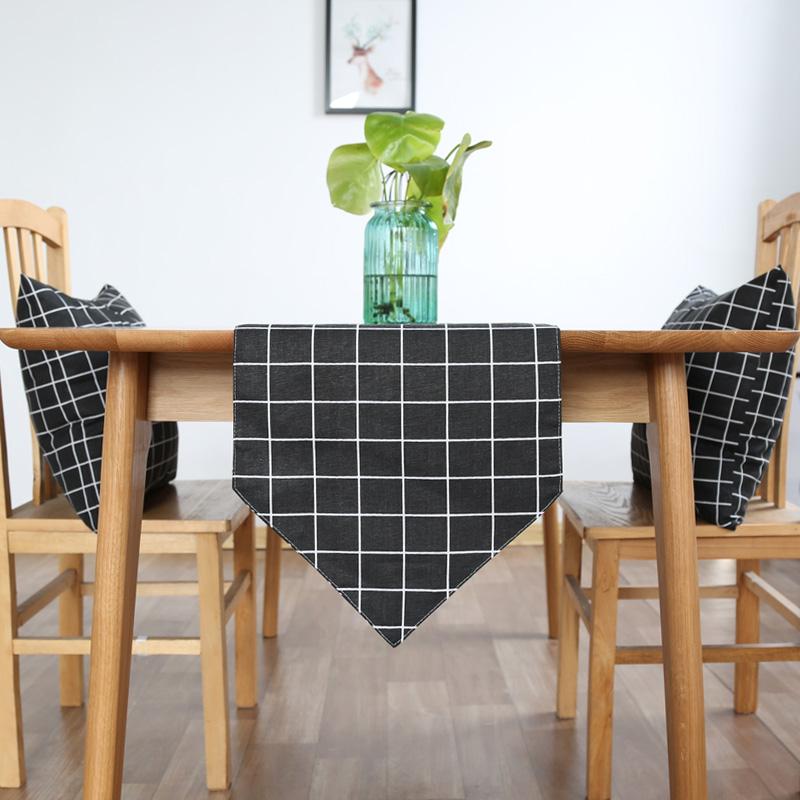 時尚可愛空間餐桌布 茶几布 隔熱墊 鍋墊 杯墊 餐桌巾桌旗198 (30*140cm)