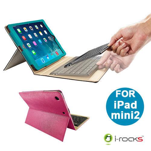 i-rocks鍵盤保護殼藍芽鍵盤iPad mini2 mini3保護套IRC31