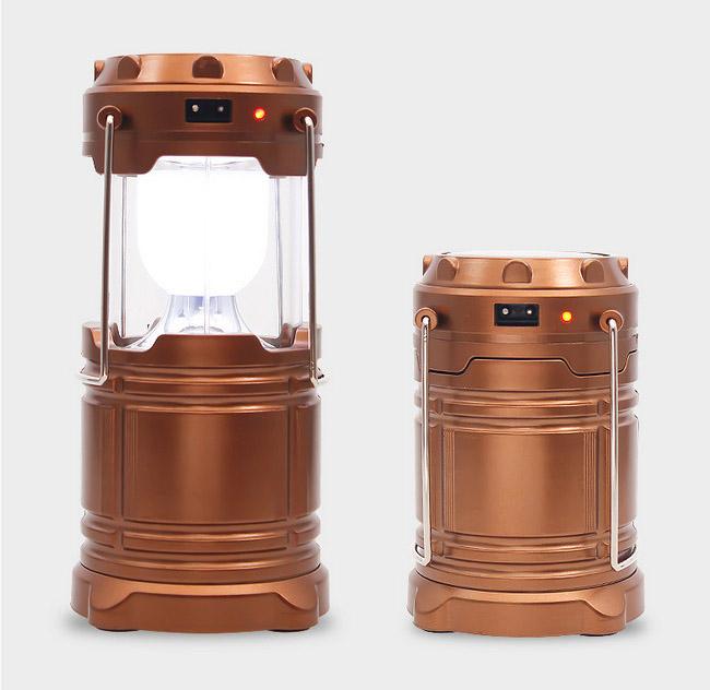樂達數位多功能露營燈可太陽能充電器充電3號電池供電FLAA63