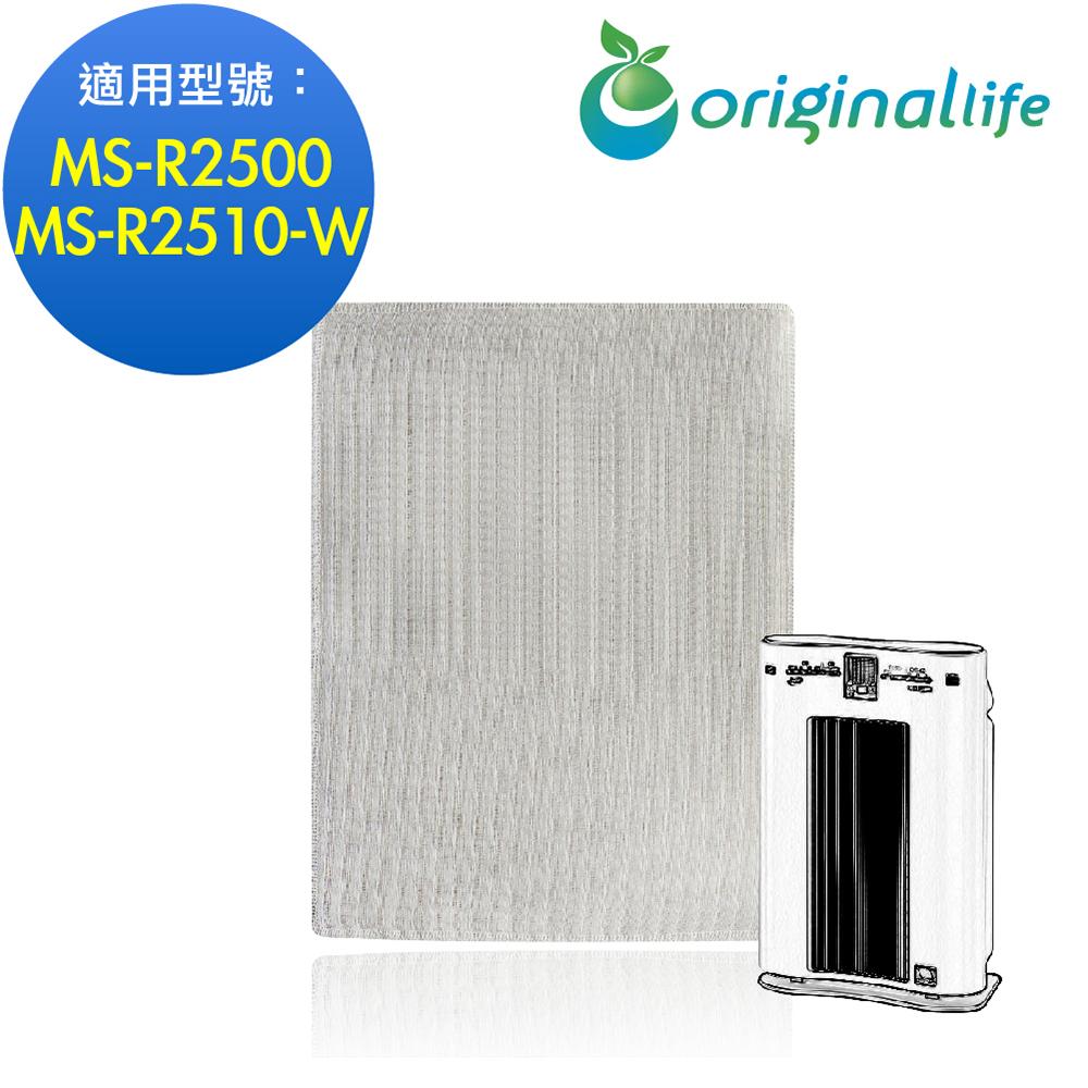 Panasonic空氣清淨機濾網 (MS-R2500、MS-R2510-W)【Original life】超淨化長效可水洗(預購)