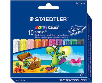 德國STAEDTLER施德樓快樂學園浮水軟陶10色繁星色系