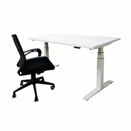 艾瑪系列人體工學電動記憶升降工作桌辦公桌SOHO族工作桌