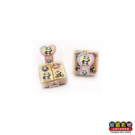 【收藏天地】Micia四入印章組*圓仔(兩款)∕ 印章 擺飾 送禮 趣味 文具 創意 觀光 記念品