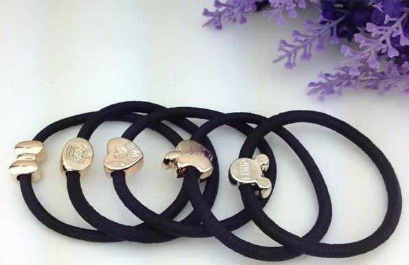 現貨韓國髮飾頭花皮筋頭繩髮圈紮頭發橡皮筋黑髮繩頭飾皮套小飾品隨機出貨