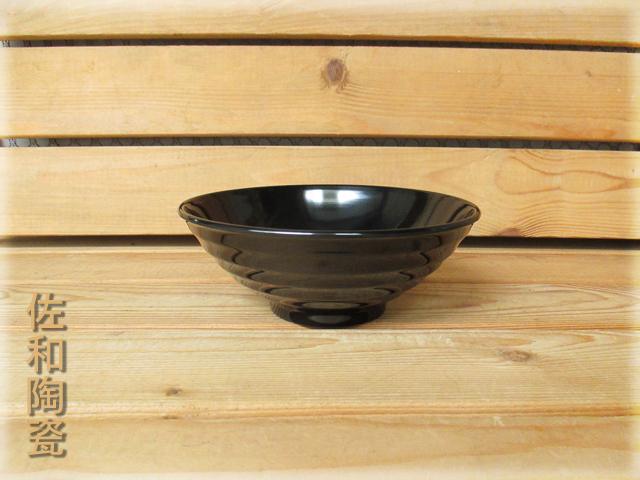 ~佐和陶瓷餐具~【05B12576黑色576拉麵碗】/ 丼飯碗 拉麵碗 湯碗 碗公 /