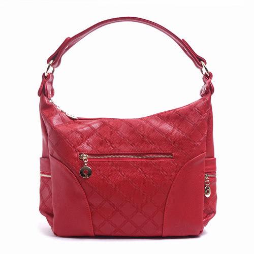 阿卡天使韓系高雅氣質時尚百搭肩背包(5色)-巴黎紅PB603