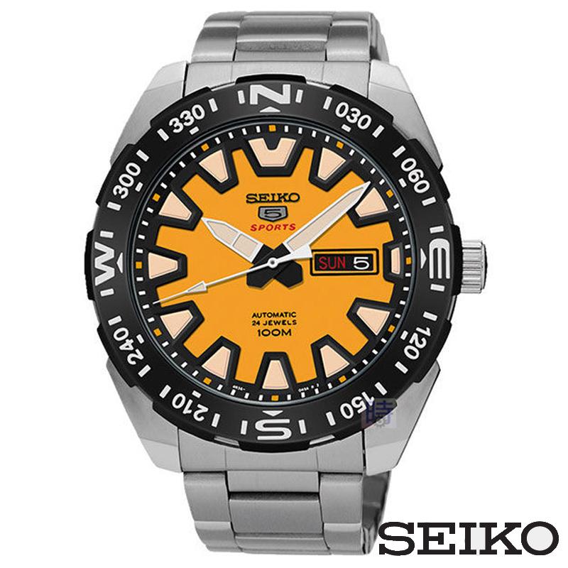 SEIKO精工5號盾牌機械錶男錶4R36-04V0Y SRP745J1免運