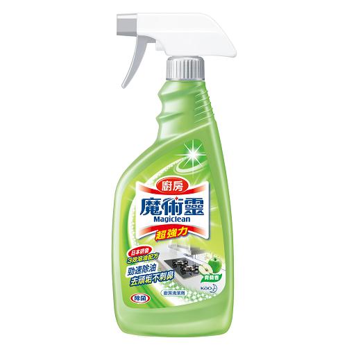 魔術靈廚房清潔劑噴槍瓶-青蘋香500ml【愛買】