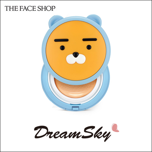 韓國 THE FACE SHOP x  HOODIE RYAN 氣墊 粉餅 15g 限量聯名 萊恩 Dreamsky