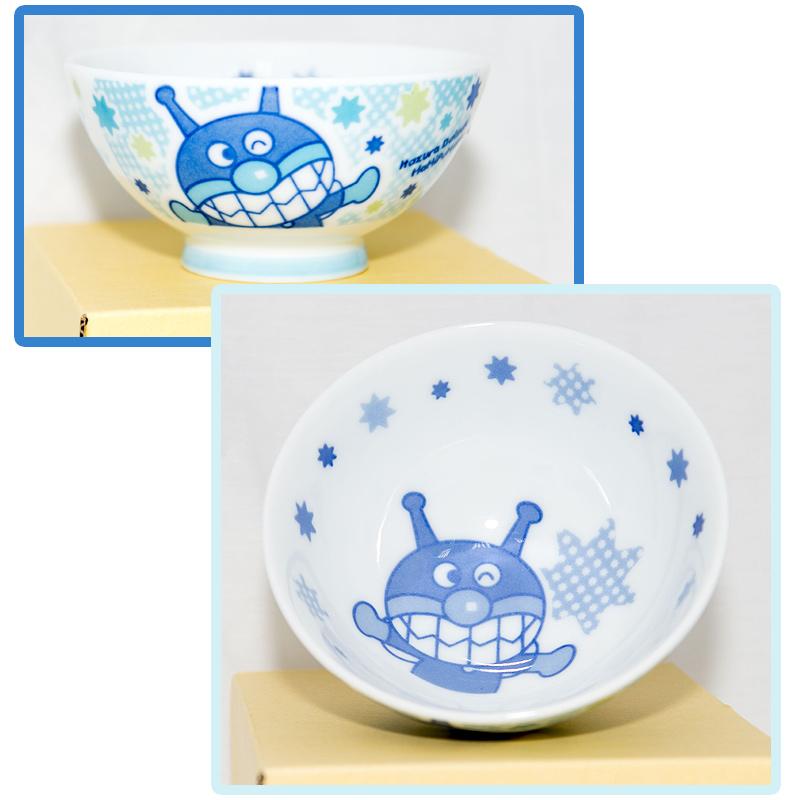 麵包超人細菌人瓷碗茶碗微波OK日本製正版品