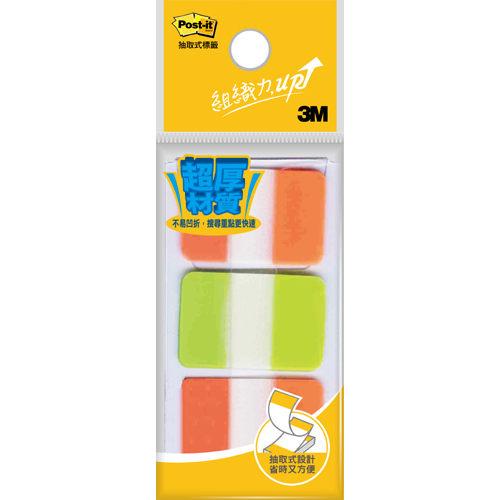 【西瓜籽文具】3M 利貼 超厚材質標籤 686-1 2色