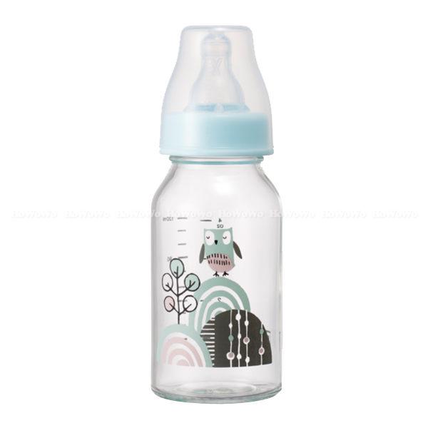 奇哥 PUP 耐熱玻璃奶瓶(標準口徑)120ml  321000 好娃娃