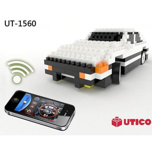 UTICO智慧手機遙控積木車-AE86 1560