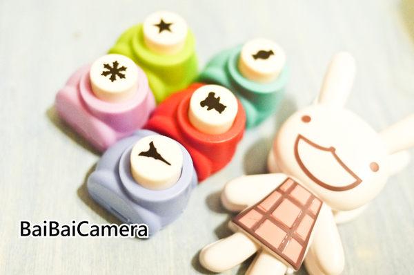 BaiBaiCamera  不挑款壓花器 另售 花邊剪刀 邊框貼 簽字筆 空白拍立得底片 mini 8 mini25