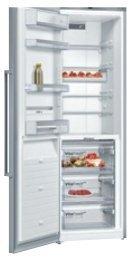 BOSCH德國博世KSF36PI30D獨立式冰箱300L經典銀不留指紋設計零利率