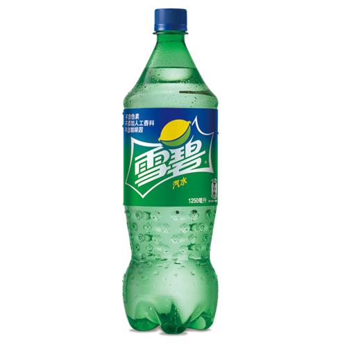 雪碧汽水寶特瓶1250ml愛買