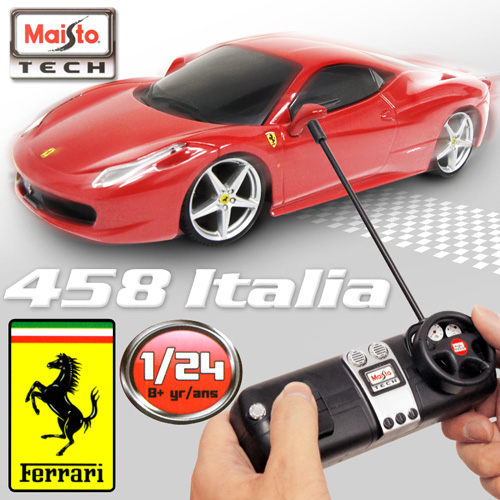 Ferrari 458 Italia 1 24無線遙控模型車