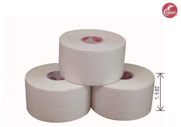 Cramer 1.5吋白貼運動貼布貼紮專用-3卷