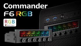 地瓜球曜越thermaltake Commander F6 RGB LCD風扇轉速控制器