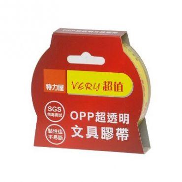 超值超透明文具膠帶 -18mm X45Y