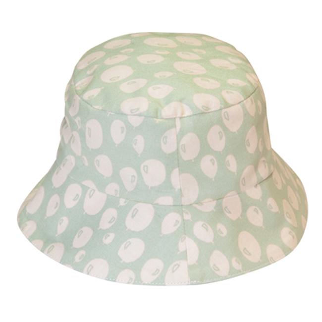 比利時Trixie有機棉遮陽帽童帽~薄荷氣球48 50 52cm