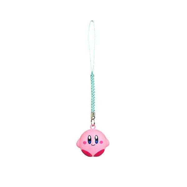 坐姿款【日本進口】星之卡比 Kirby 鈴鐺吊飾 吊飾 卡比之星 任天堂 - 036312