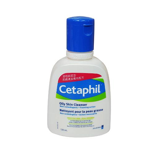 Cetaphil舒特膚油性肌膚專用潔膚乳125ml