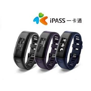GARMIN vivosmart HR iPass腕式心率智慧手環新增NFC一卡通支付功能