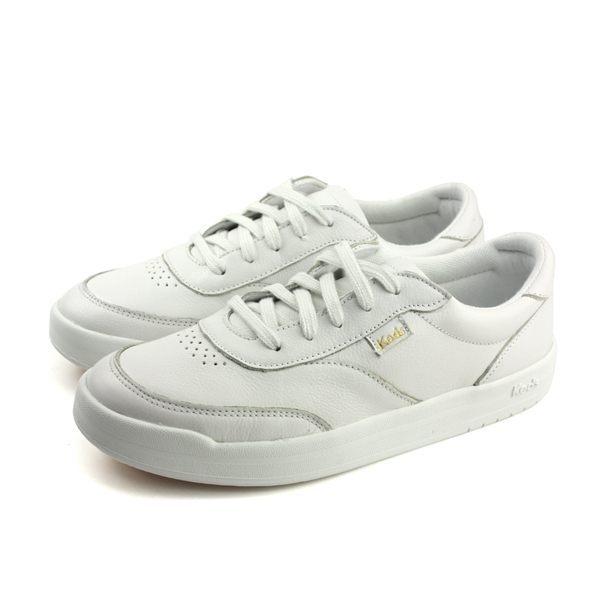 Keds MATCH POINT LEATHER WHT 女款白色休閒鞋-NO.9183W132589