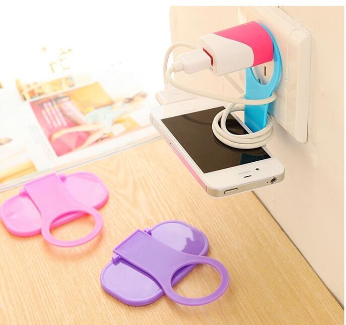 可摺疊 充電支架 充電架 創意收納 輕巧便利摺疊式手機充電架