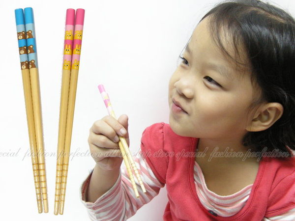【DN204】兒童木製筷子SGS認證 防滑 好夾★EZGO商城★